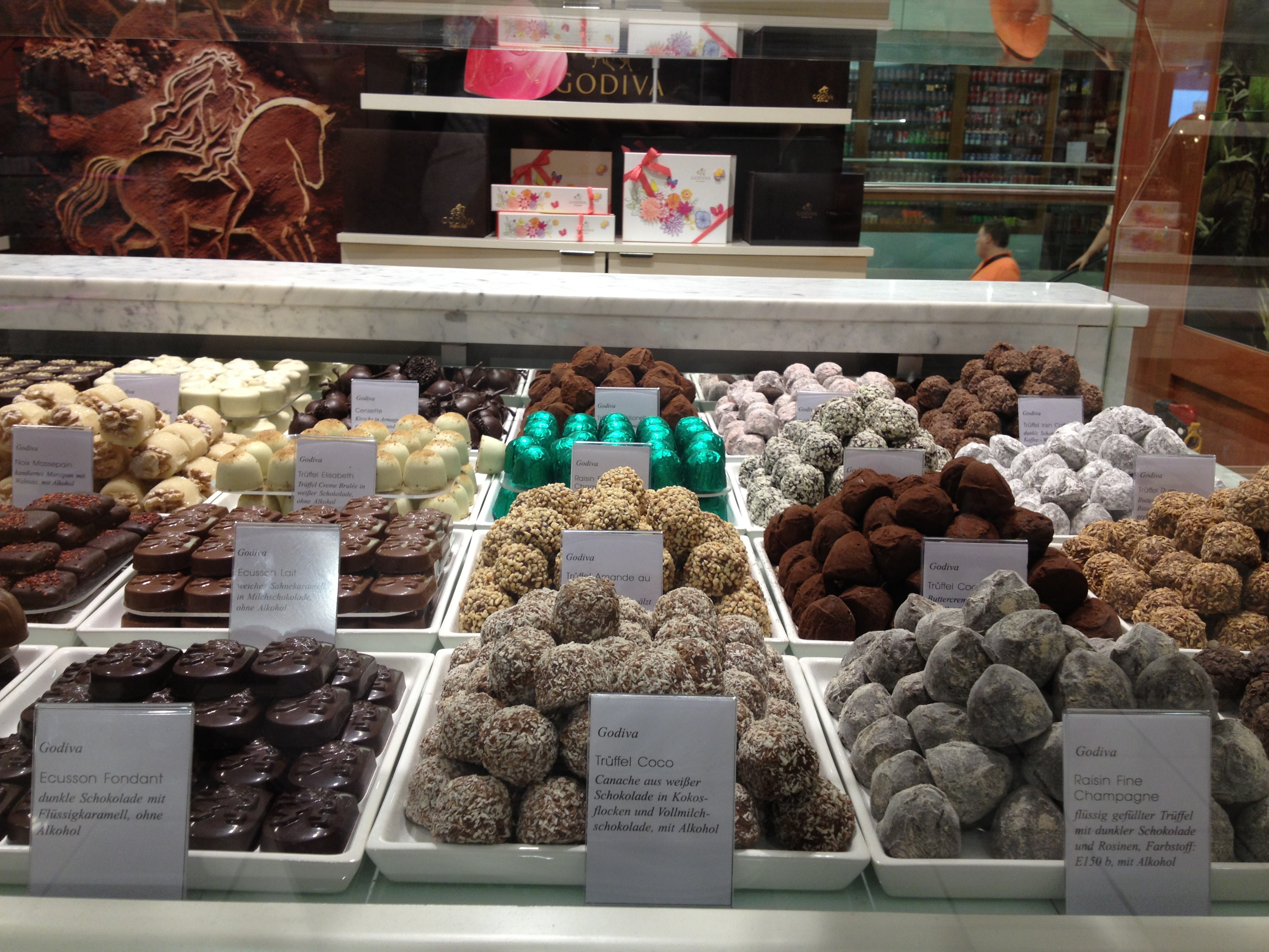 Delicious choclate bar at KaDeWe - Kurfürstendamm. They just tasted amazing.