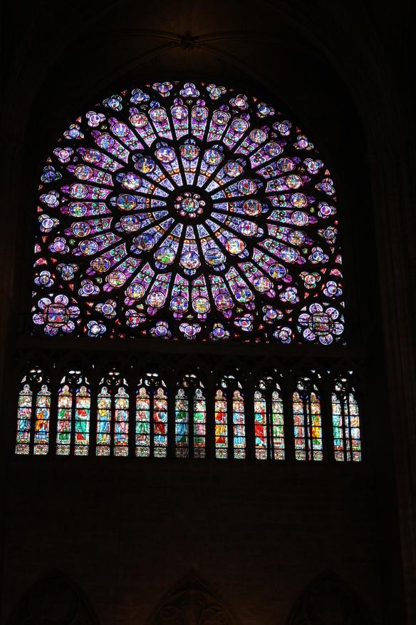 Notre Dame Paris window